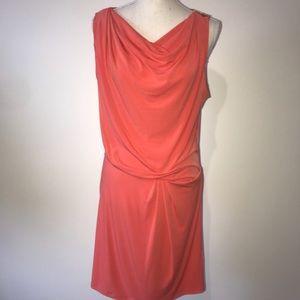 Michael Kors Orange Dress Size Small